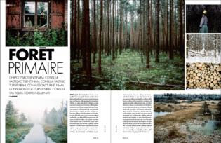 Photoreportage Elle Magazine