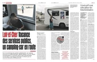 LIBERATION - Juin 2019 - Reportage Loir et Cher- MSAP